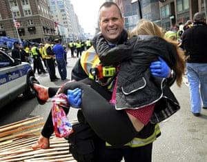 Boston Marathon Victoria McGrath
