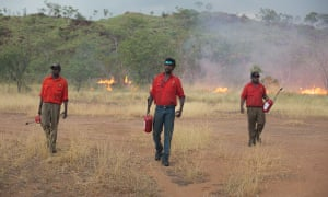 "Kija Rangers conduct prescribed or ""cool"" burning in the East Kimberley."