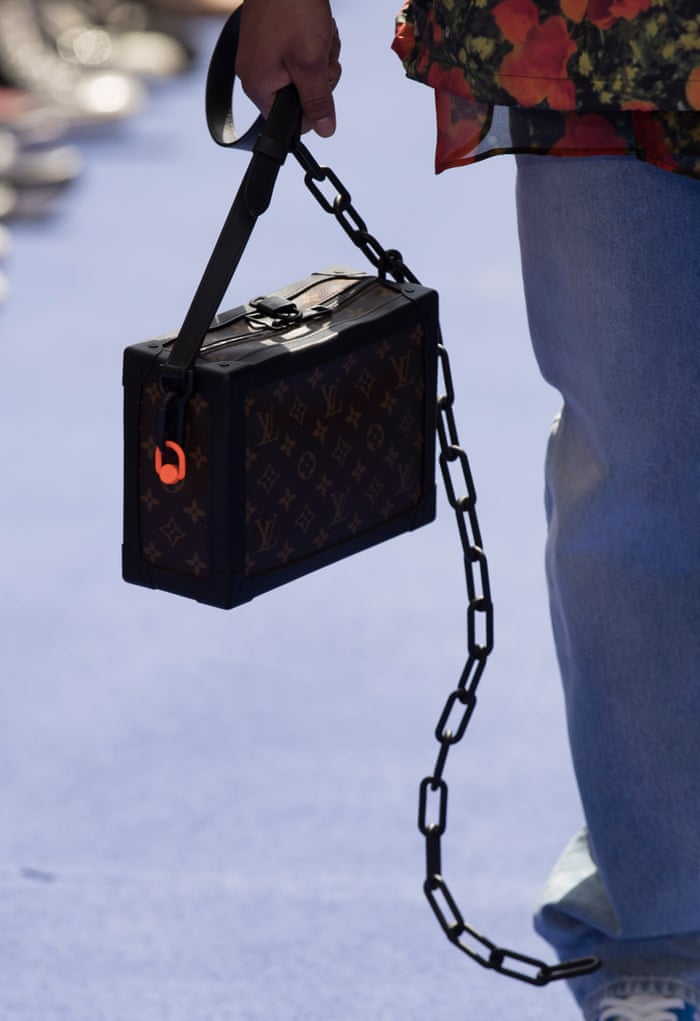 7dd2663f4c64 V is for Virgil  Abloh makes debut for Louis Vuitton in Paris ...