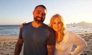 Interrogation on the beach … Ant Middleton and Rebel Wilson.