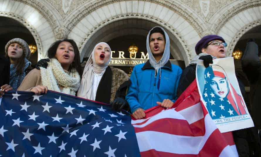 Protests have broken out across the country, and around the world, in the week since Trump signed the travel ban.