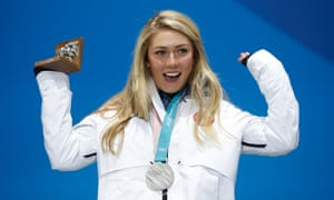 Mikaela Shiffrin added silver to her medal tally in the alpine combined