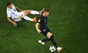 Argentina v Croatia