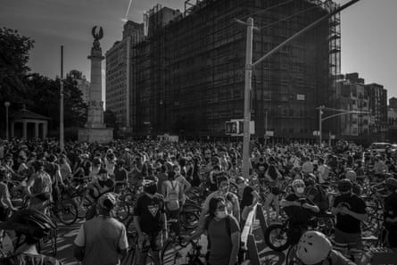 Street Riders fill Grand Army Plaza to capacity on June 8th in Brooklyn, New York