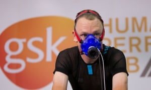 Chris Froome's tests were conducted in August at London's GSK Human Performance laboratory.