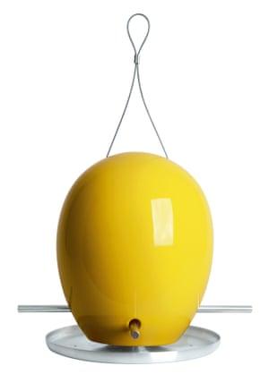 Egg bird feeder.