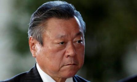 Japan's new Olympic Minister Sakurada