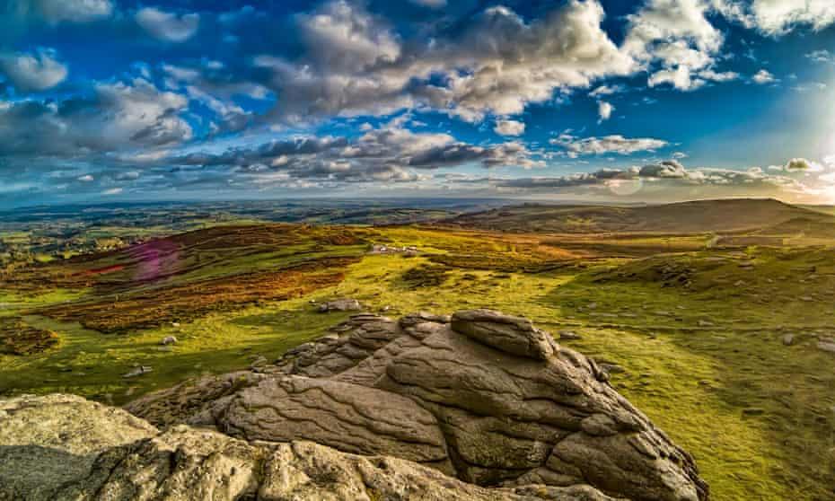 The northern moor, Dartmoor, Devon