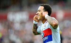 Another game, another goal for Memphis Depay.