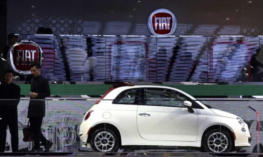 The worst gap between official miles per gallon and real-world performance was the Fiat 500.