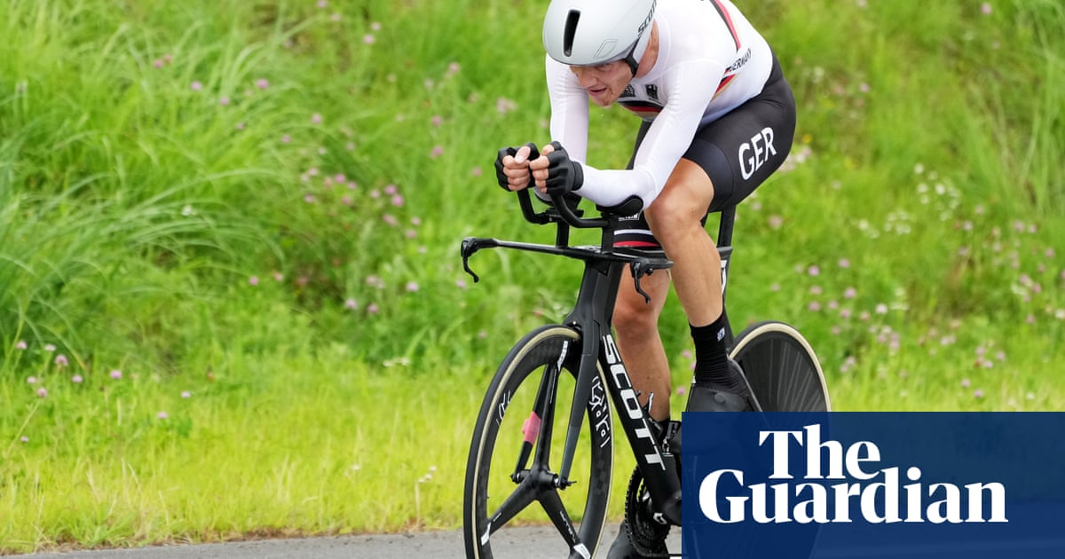 German cycling director sent home over racial slur during Tokyo time trial