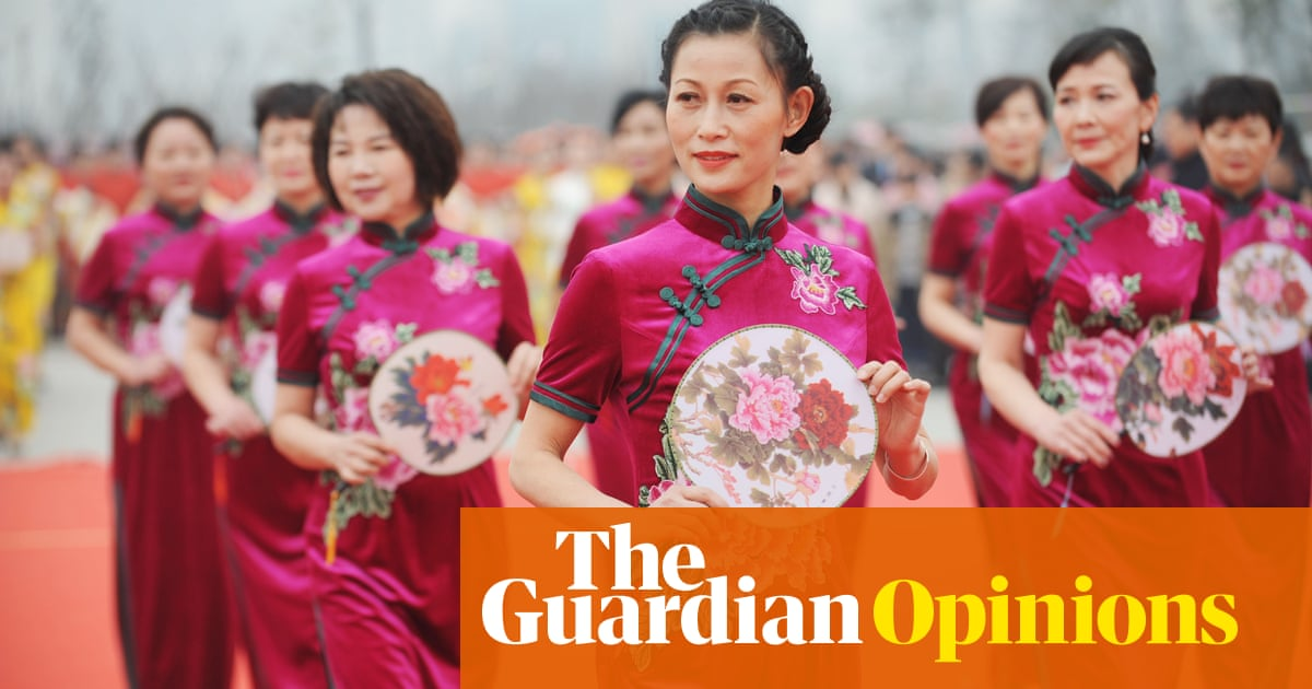 An American woman wearing a Chinese dress is not cultural appropriation