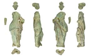 The  copper-alloy and lead statuette of Minerva