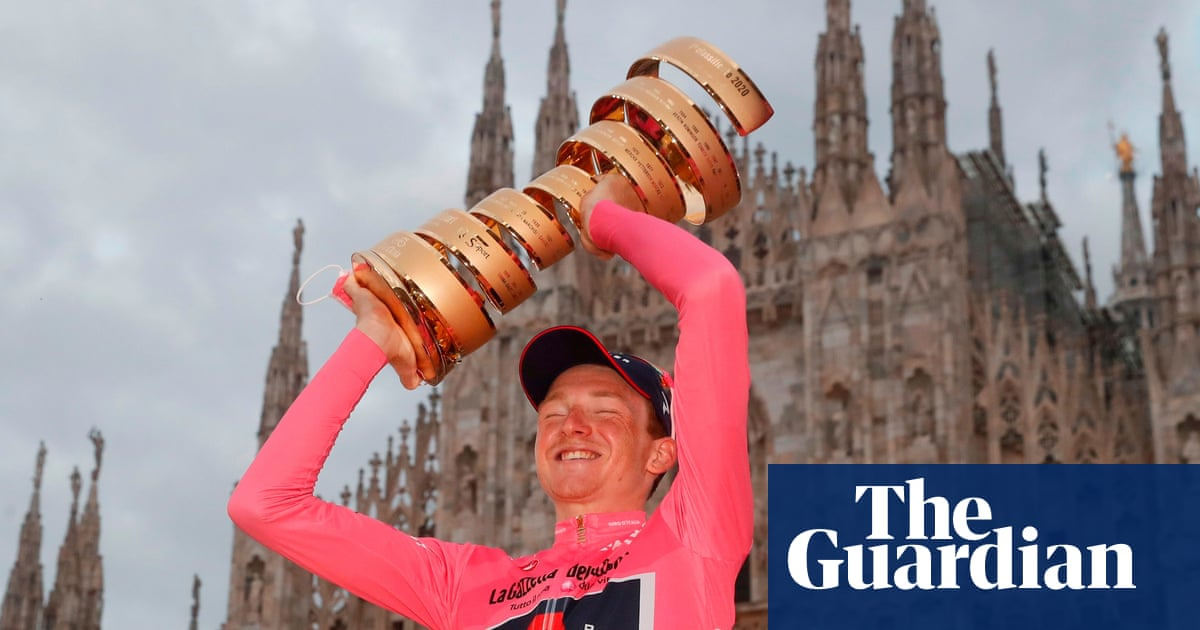 Tao Geoghegan Harts shock Giro dItalia win the stuff of comic books