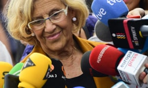 The low-emissions zone was brought in last November by the then mayor, the leftwing Manuela Carmena.