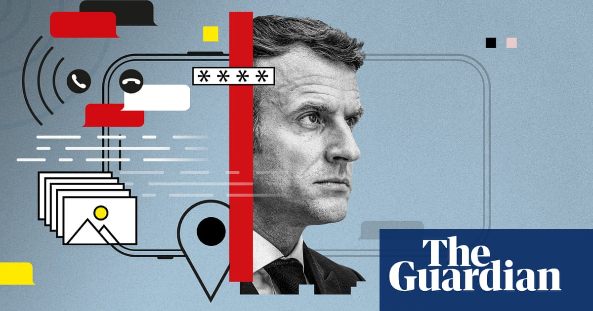 Emmanuel Macron 'pushes for Israeli inquiry' into NSO spyware concerns