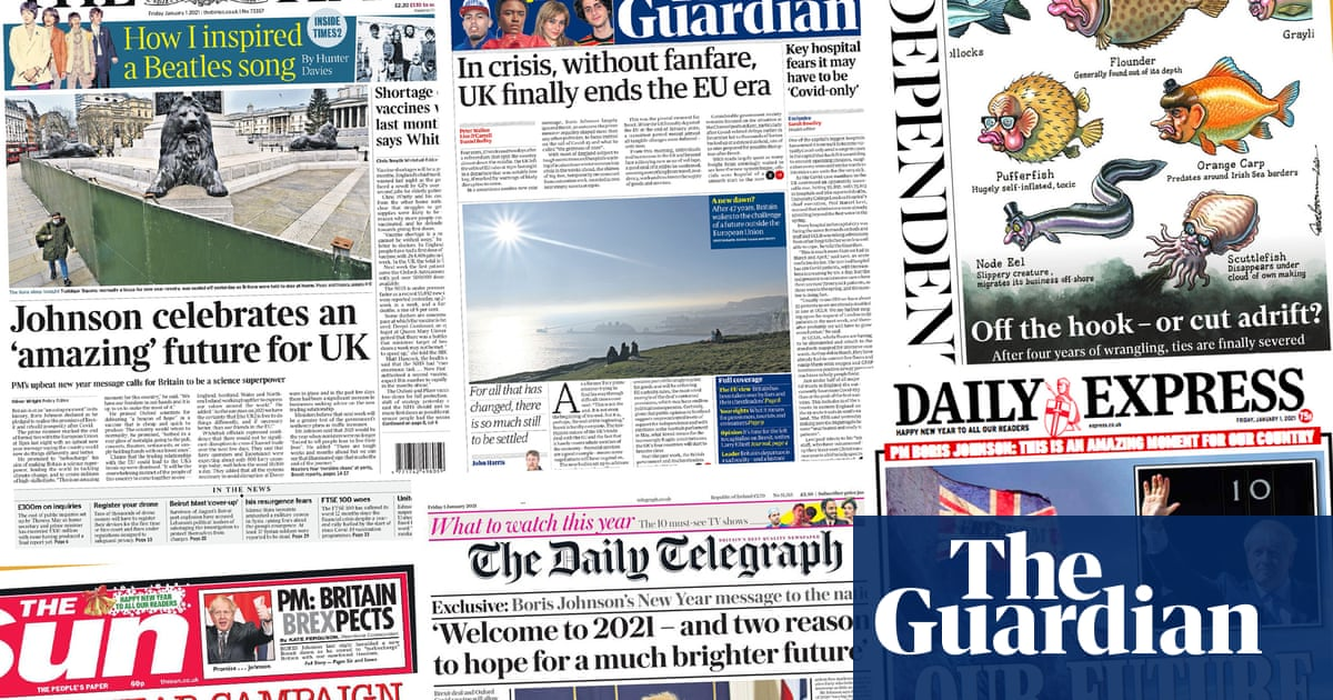 Off the hook or cut adrift?: what the papers say as Brexit transition ends