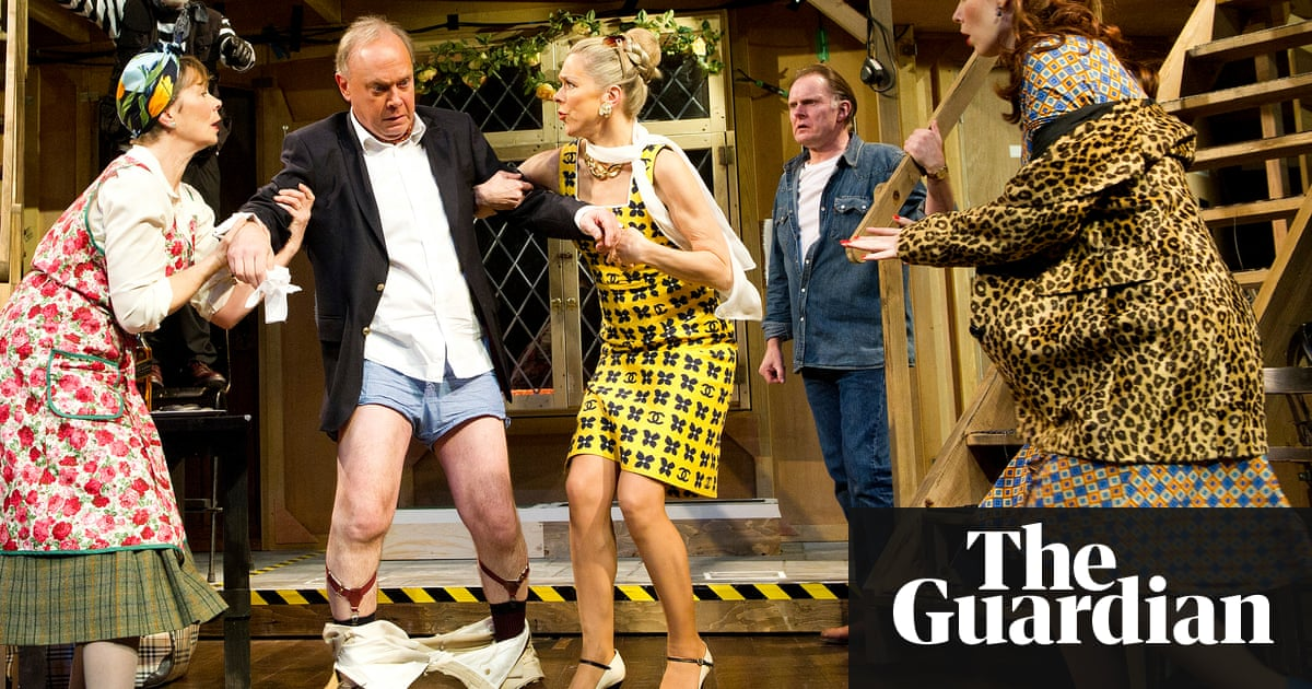John Cleese How To Write The Perfect Farce Stage The Guardian