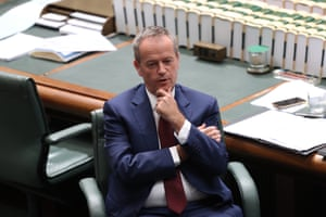 Opposition leader Bill Shorten during question time.