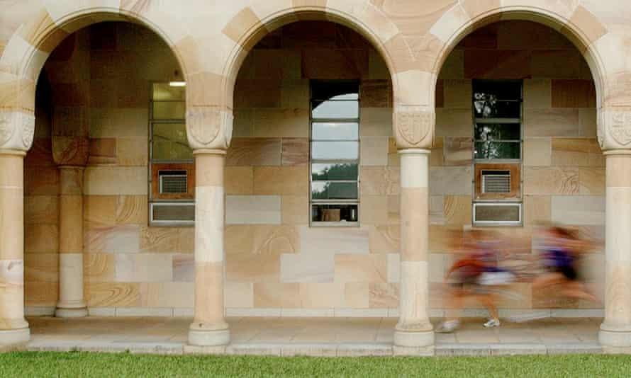 The University of Queensland quadrangle