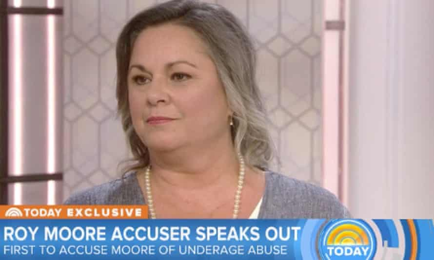 Leigh Corfman alleged that Moore sexually assaulted her when she was 14.