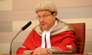 Former New South Wales supreme court judge Anthony Whealy