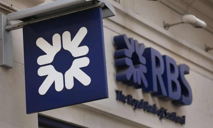 RBS bank branch and sign
