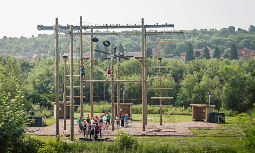 Kingswood's high-ropes adventure
