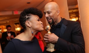 Ava DuVernay, pictured here with Common at the 2015 Golden Globes, is one of a handful of female directors in Hollywood.