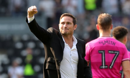 Frank Lampard's Derby County play Bristol City in a game that could decide who takes the final play0ff spot.
