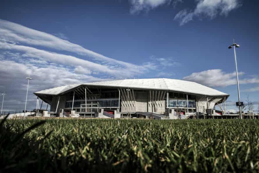 Stade de Lyon.