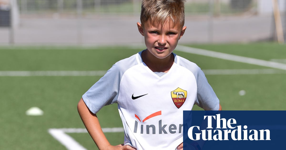 fe16008c419d3 The 10-year-old US soccer sensation and social media star snapped up by Roma