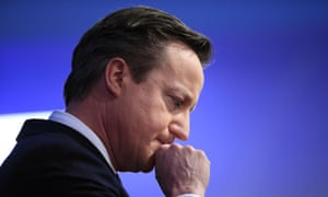 David Cameron: feeling blue? The Conservative party would need to win more than 326 seats to be certain of becoming the next government.