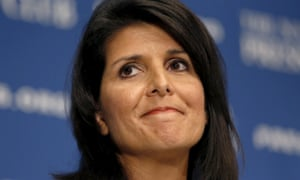 Nikki Haley was a critic of Trump during the election campaign.