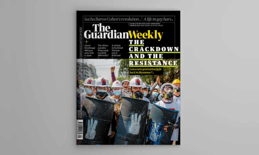 Guardian Weekly cover 5 February 2021