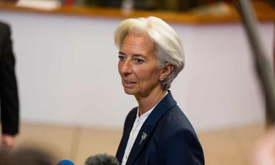 International Monetary Fund chief Christine Lagarde – the Fund calls for more debt relief for Greece to prevent an inevitable repeat of the current crisis.