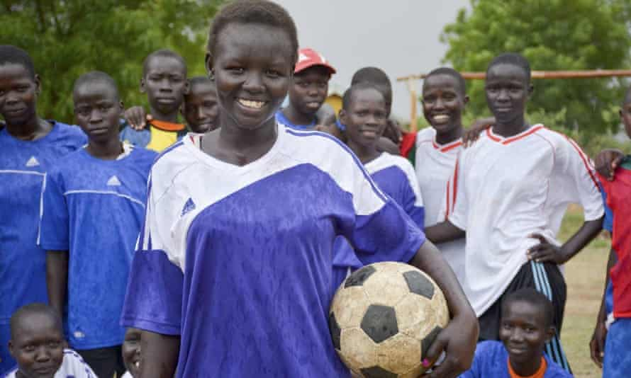 The project's aim is to increase female participation in football by 70%.