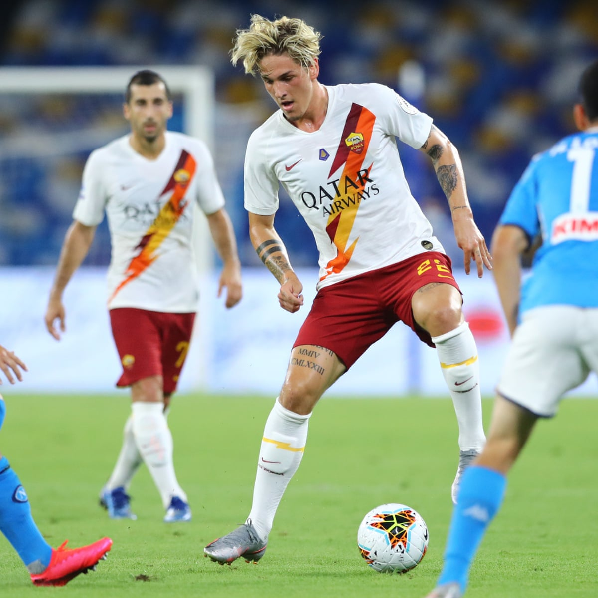 Tottenham tracking promising Roma midfielder Nicolò Zaniolo | Football |  The Guardian