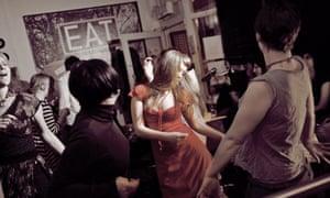 Dancing at Nottingham's Jam Café