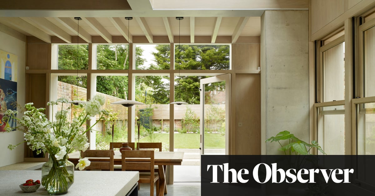 Learning new lines: inside an actor's remodelled home