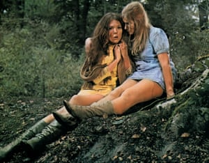 A Midsummer Night's Dream, 1968Diana Rigg as Helena and Helen Mirren as Hermia in Peter Hall's film of the Shakespeare play