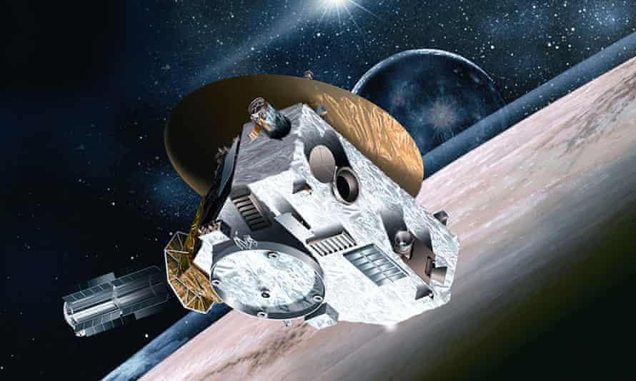 New Horizons spacecraft<br>Undated handout artist's impression.