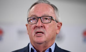 NSW health minister Brad Hazzard: 'Do not play the blame game.'