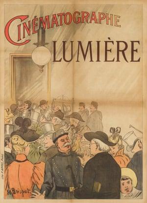 Poster headed Cinèmatographie Lumière