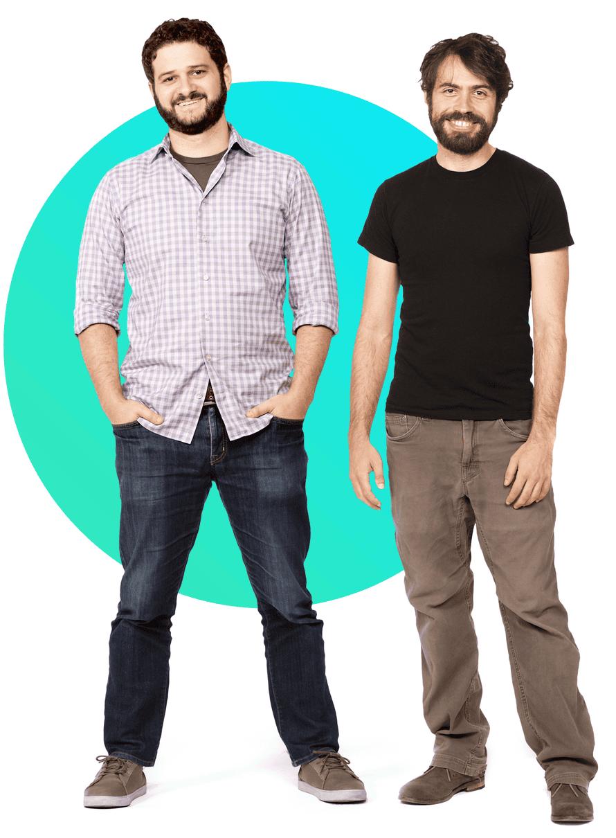 The founders of Asana, Dustin Moskovitz and Justin Rosenstein.