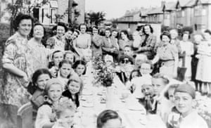 A VE Day party in Nottingham