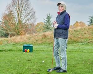 Catherine Devons, a member of Wimbledon Park Golf Club