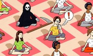 skeleton doing yoga