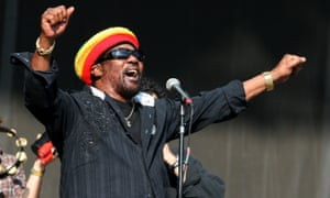 Seal of approval ... Toots Hibbert of Toots and the Maytals praised Dalmia's work when he visited Jamaica.