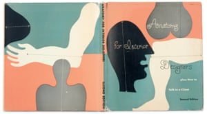 The cover of the book Anatomy for Interior Designers by Julus Panero and Illustrated by Alvin Lustig.